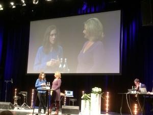 Hanna Stjärne i samtal med Cissi Elwin