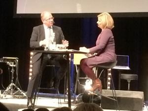 Martin Lundstedt intervjuas av Cissi Elwin