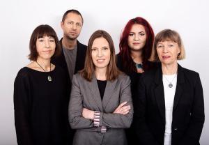 Redaktionen 2014: Åsa Berner, Rikard Johansson, Unn Edberg, Diana Demin, BrittMari Lantto.